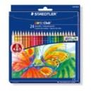 Crayon de couleur Norbis Club 144 - Etui de 24