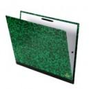 Carton à dessin marbré vert 28 x 38 cm - Format B4