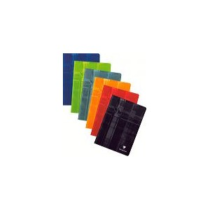 Cahier Clairefontaine spirale - 21 x 29,7 - 180 pages - 5 x 5- 90 gr