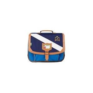 Cartable Tann's - Gibeciere 38 cm - Polo Bleu/Bleu - Nylon haute techn