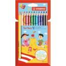 Crayon de couleur Stabilo Trio Thick - Etui de 12