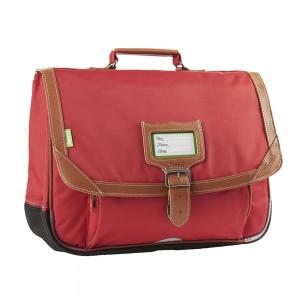 Cartable Tann's - Gibeciere 38 cm - Les unis madrid rouge