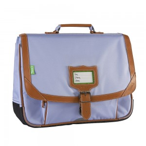 Cartable Tann's - Gibeciere 38 cm - Les unis manosque lavande