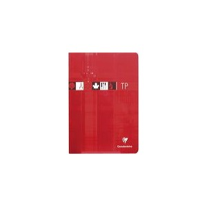 Cahier Clairefontaine TP - 21 x 29,7 - 80 pages - 90 gr