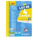 Cahier Clairefontaine 21 x 29,7 - 96 pages - Seyes -Lot de 3+1 g