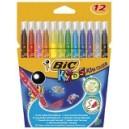 Feutre Bic - Kids couleur - pointe moyenne - ultra lavable - Etu