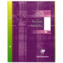 Feuille de dessin Clairefontaine 17 x 22  cm - 60 pages - 125 gr