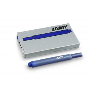 Cartouche d'encre Lamy T 10 - effacable - Etui de 5 cartouc