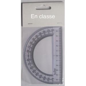 Rapporteur 180 ° - Base 12 cm - En Classe - Fabriqué en France