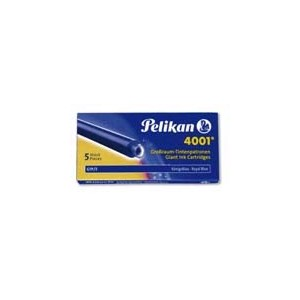 Cartouche d'encre longue Standard - Bleu effacable - Pelikan - E