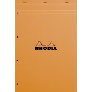 Bloc Rhodia 21 x 29,7 - 80 pages - Seyes - Perforées