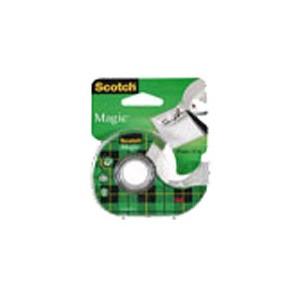 Scotch 3M magic avec dévidoir - 19 mm x 7.5 M