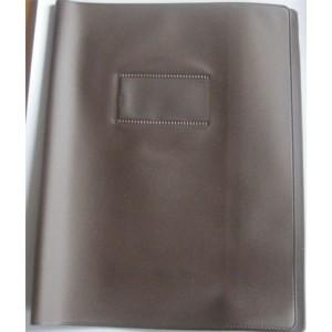 Protege cahier - 17 x 22 cm -  En classe - 22/100 eme - 12 couleurs au choix