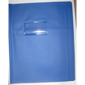 Protege cahier - 21 x 29 cm -  En Classe - 22/100 eme - 10 couleurs au choix