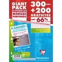 Feuilles simple blanche Clairefontaine -  21 x 29,7 - 300 +200 grat-Seyes