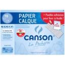 Pochette papier calque - 24 x 32 - 70 gr